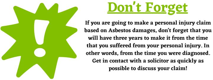 Asbestos Damages and Housing Disrepair Claims