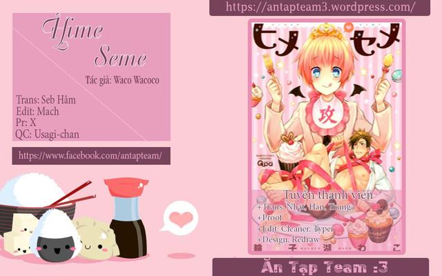 Hime Seme Chap 3 page 1 - Truyentranhaz.net