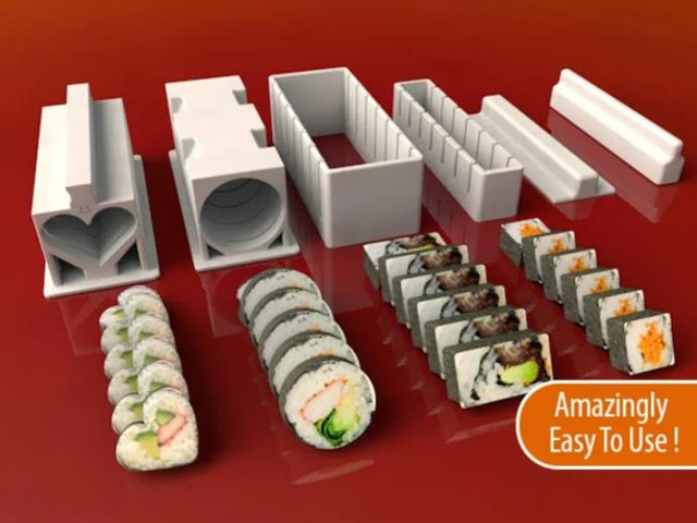 Sushi Maker Set - Cool Things to 3D Print