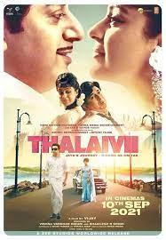 Thalaivi 2021 Hindi 720p | 480p Pre-DVDRip x264 AAC 1GB | 400MB Download