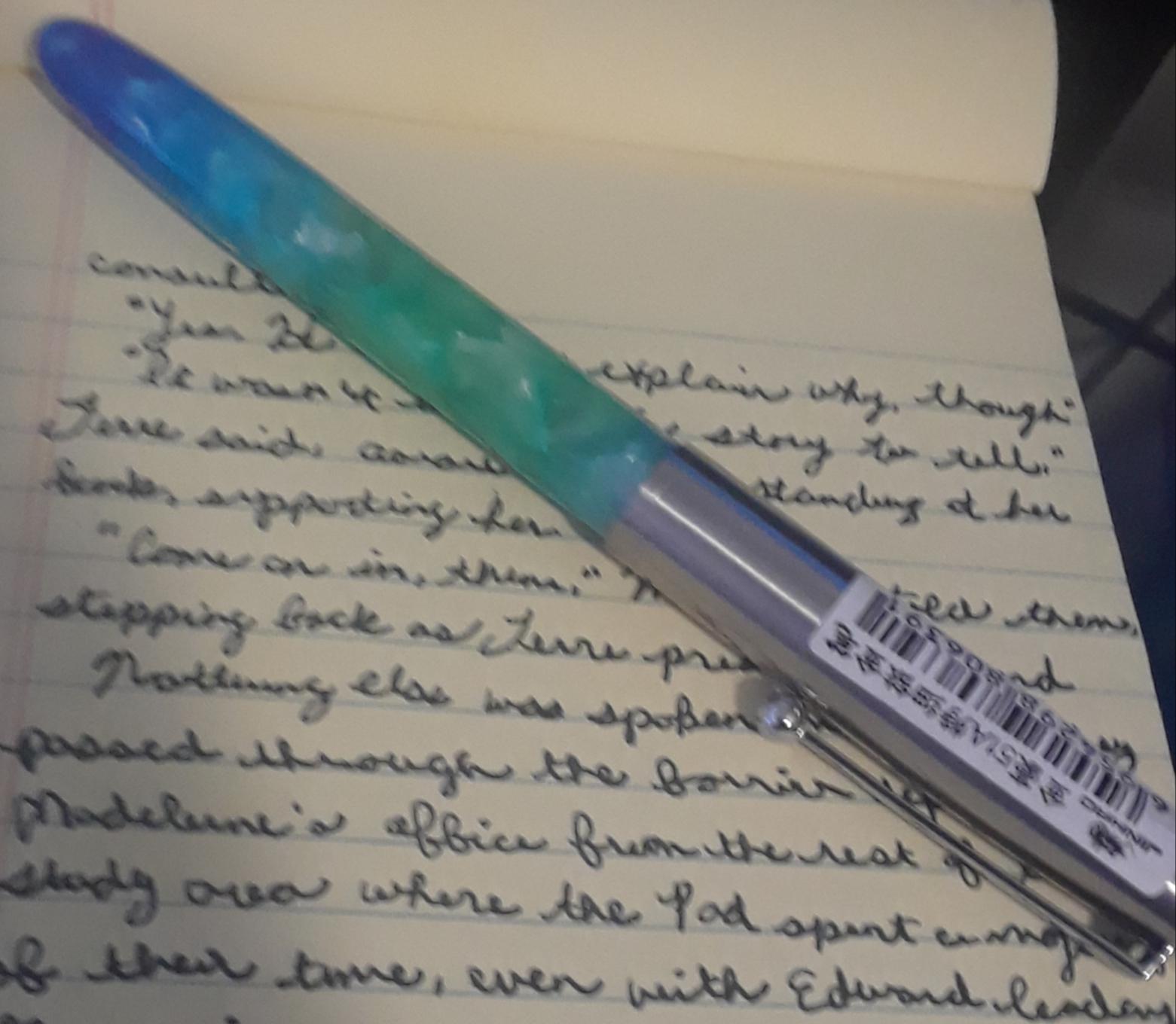 shiny pen