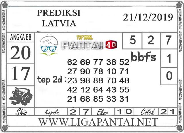 PREDIKSI TOGEL LATVIA PANTAI4D 21 DESEMBER 2019