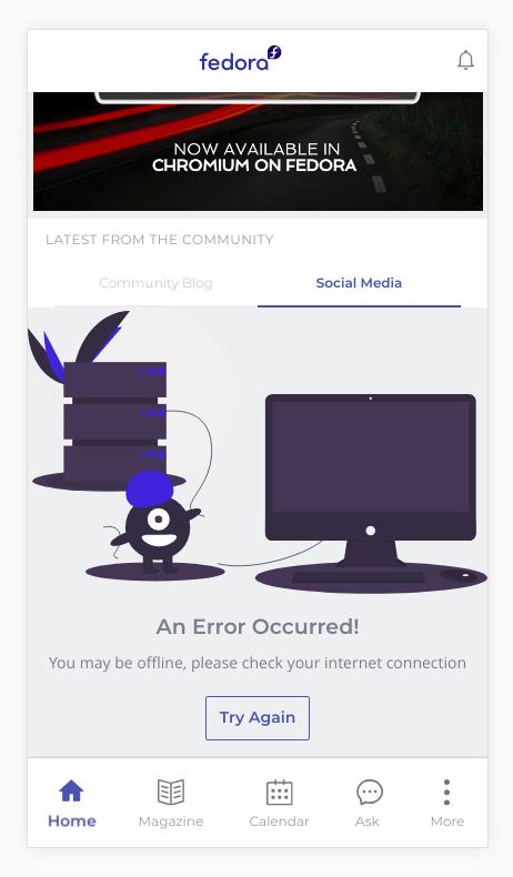 Fedora screenshot