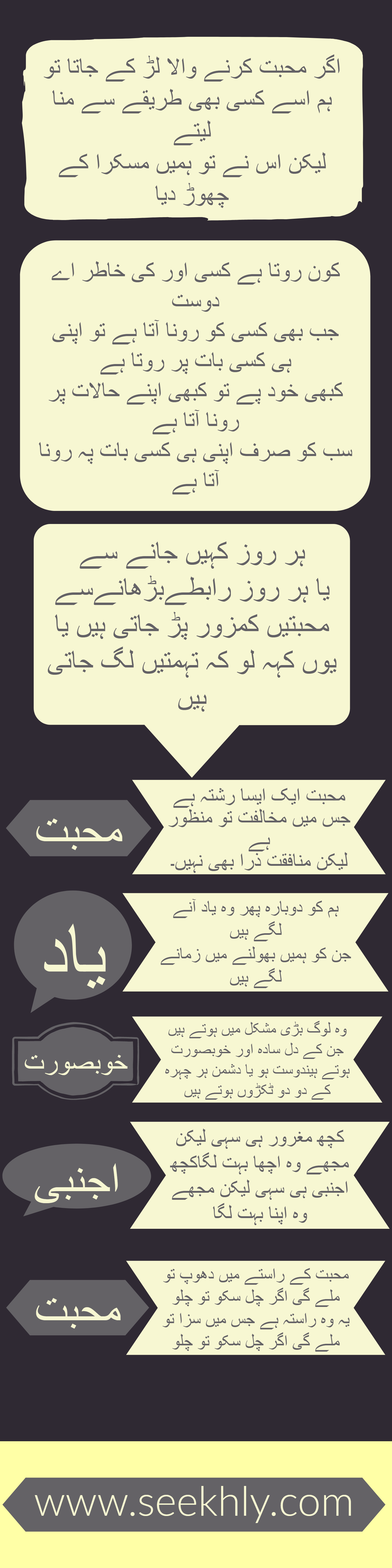 infographic, best urdu poetry, infographic, love poetry in urdu, urdu shayari. urdu quotes, urdu poetry,