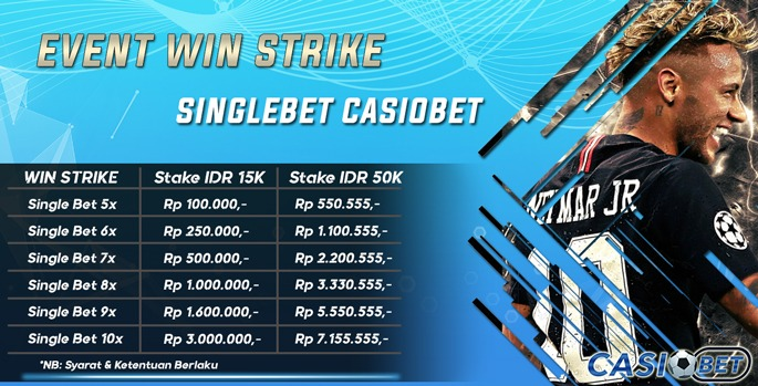 Win Strike Single Bet
