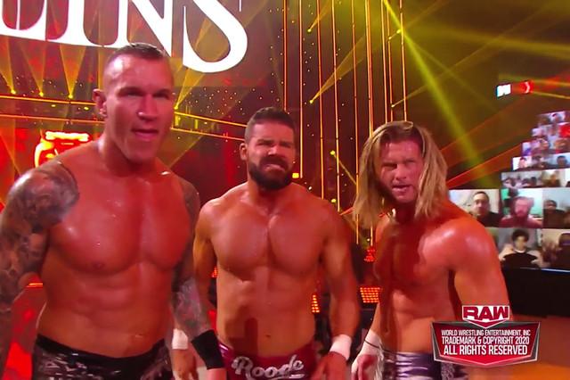 Orton, Ziggler y Roode vencen a Drew, Montez y Angelo