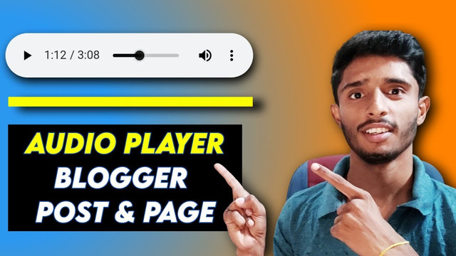 How to Add MP3 Audio Player in Blogger