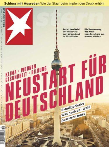 Cover: Der Stern Nachrichtenmagazin No 32 vom 05  August 2021