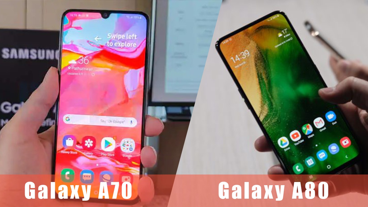 Samsung Galaxy A80, Galaxy A70 Price and India Launch Date Revealed by Company
