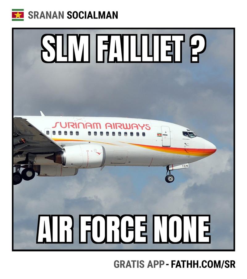 Sranan Socialman : Air Force None