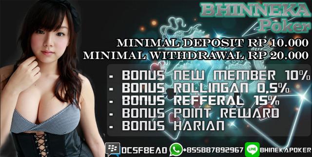 BhinnekaPoker.com | Agen Poker Online Terbaik dan Terpercaya New-1