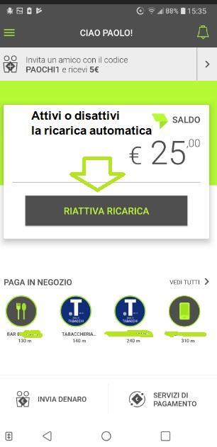 Bill SisalPay Bill (App italiana di SisalPay) €5,00 subito + €5,00 se invitato + €5,00 ogni invito [scadenza 31/07/2021] - Pagina 3 Ricarica-Cambia-Bill2019-Ott04-2