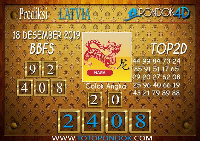 Prediksi Togel LATVIA POOLS PONDOK4D 18 DESEMBER 2019