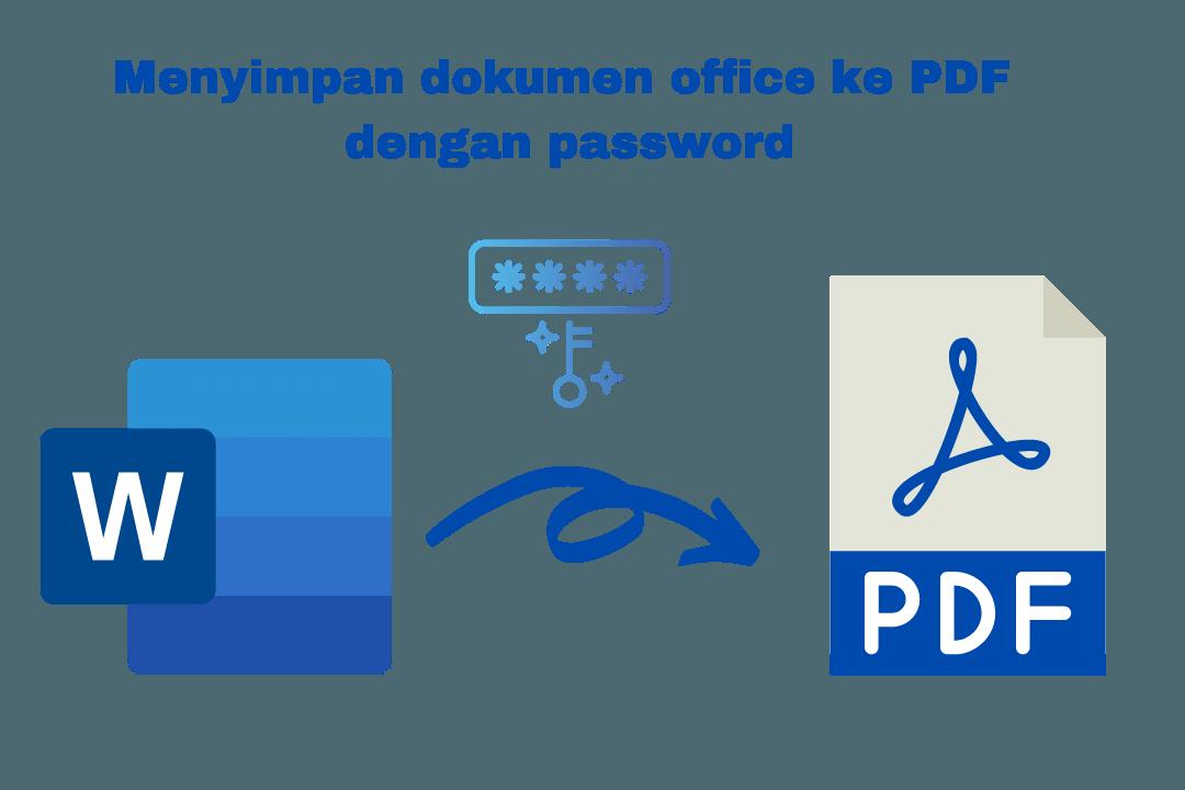 menyimpan dokumen office ke format pdf