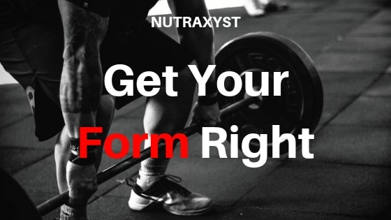 Get your form right. #nutraxyst #musclegrowth #todo #gym #bodybuilding #health #protein #creatine #HGH #IGF-1