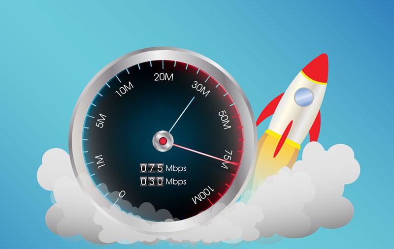 ¿Qué es la velocidad de subida de datos en internet?