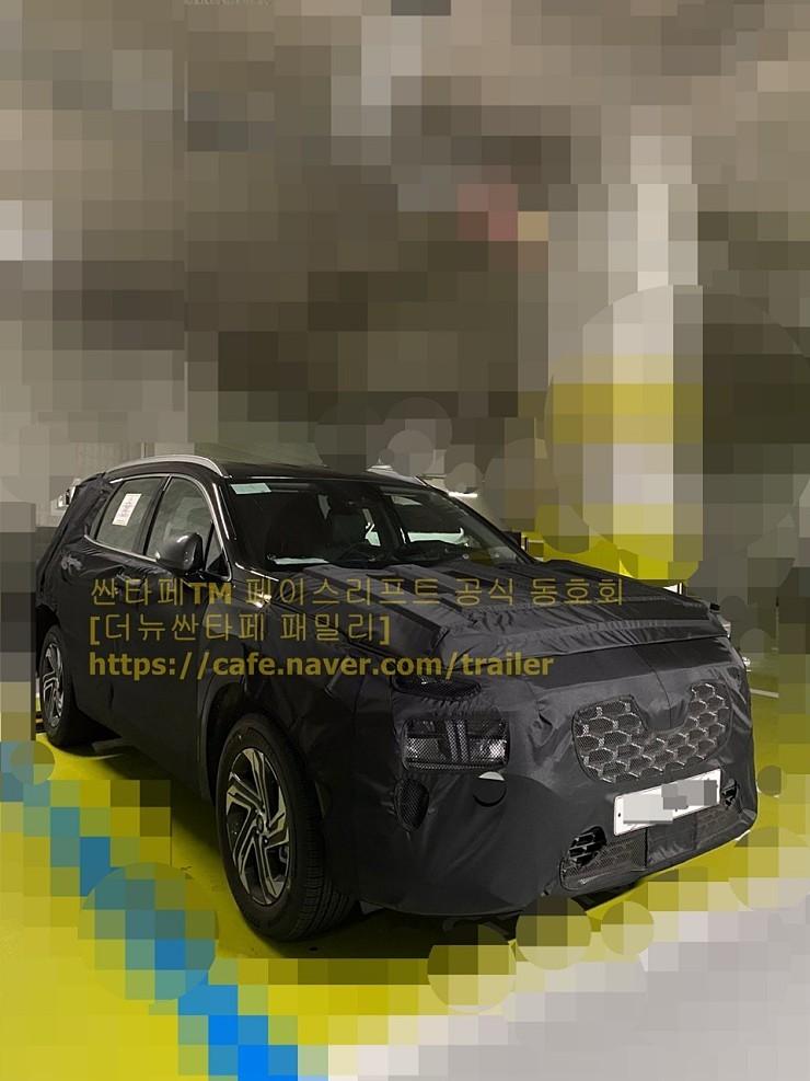 Hyundai Santa Fe Restyling (2020) 11