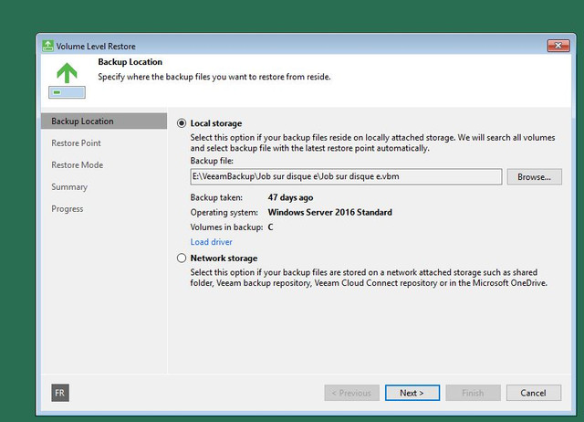 Use Recovery Agent with my own build of WinPE - Veeam