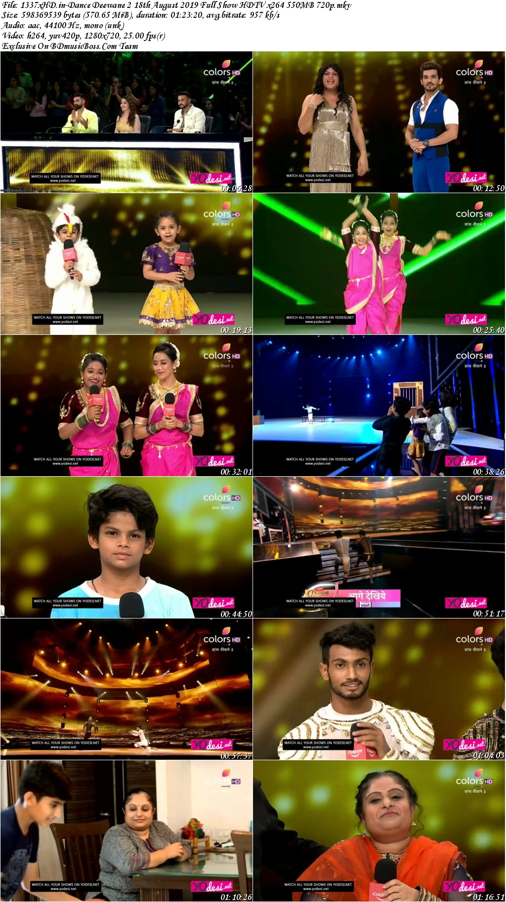 1337x-HD-in-Dance-Deewane-2-18th-August-2019-Full-Show-HDTV-x264-550-MB-720p-s
