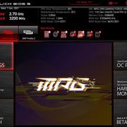 BIOS 01 Menu - Testers Keepers mit MSI MPG Z590 Gaming Force