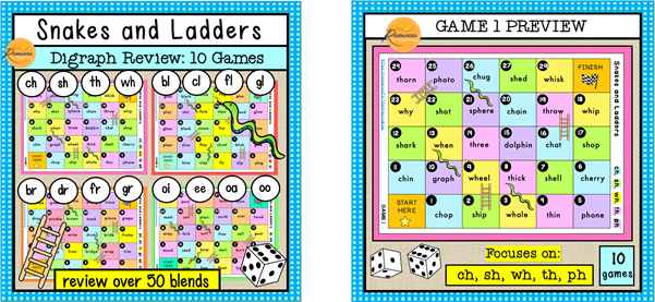 READING-Snakes-and-Ladders-Digraph-Review-Games