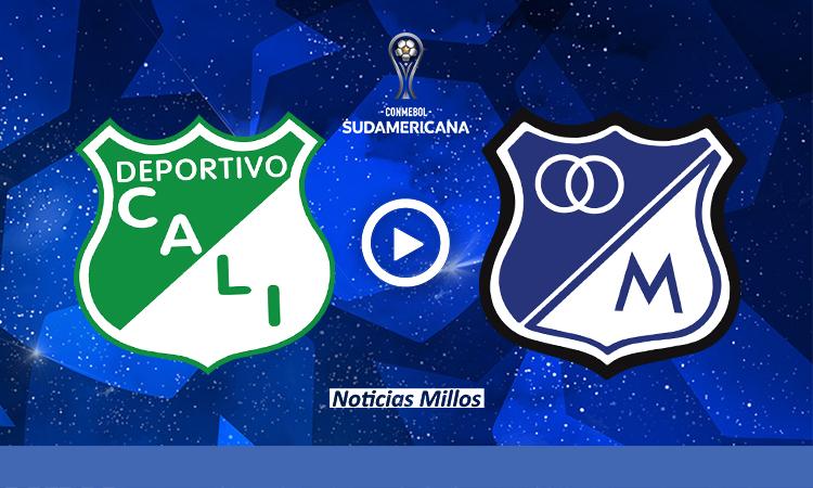 Cali Millonarios Copa Sudamericana