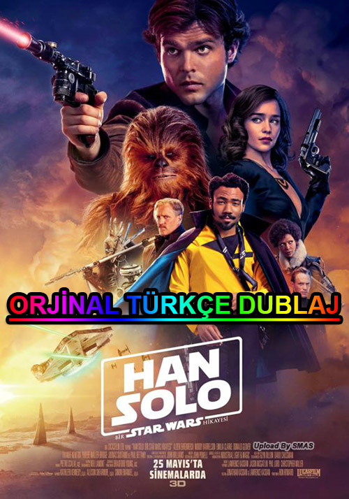 Han Solo: Bir Star Wars Hikayesi | 2018 | m1080p | BluRay | 1.75 GB | Dual | TR-EN | Tek Link