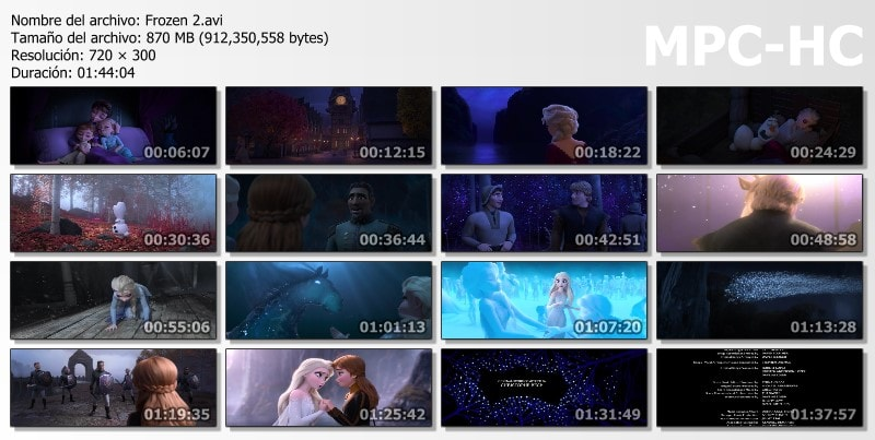 Frozen 2 Capturas