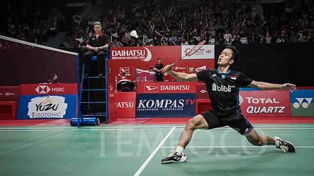 Bulu Tangkis Swiss Terbuka, Anthony Ginting Kandas di Semifinal