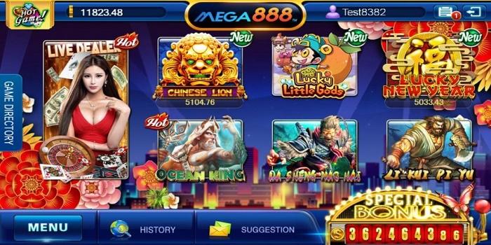 mega888 register
