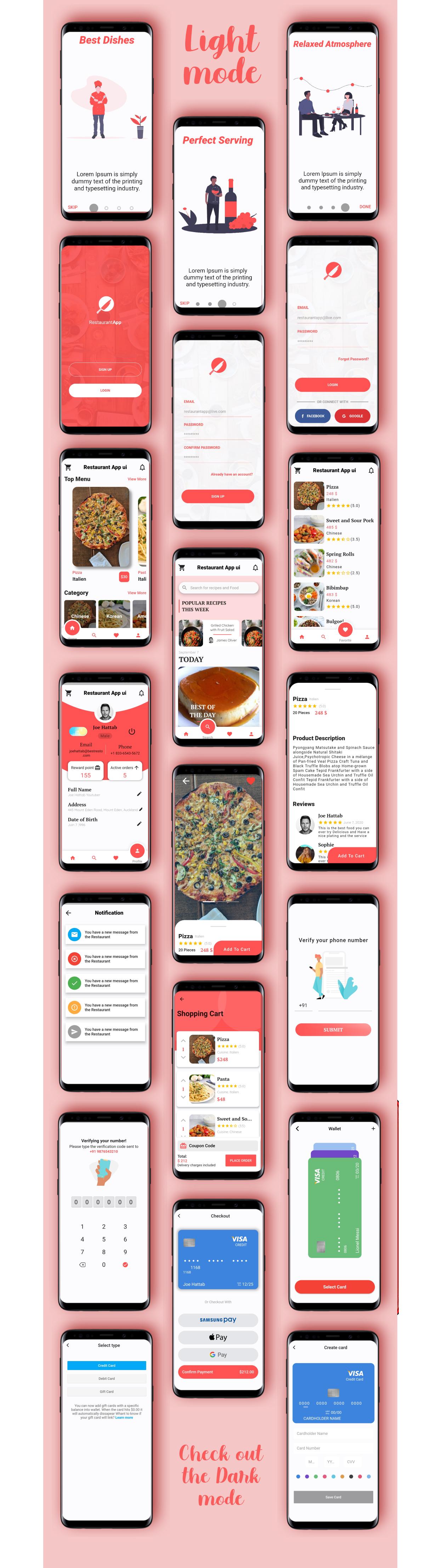Modern Flutter Restaurant UI Kit - 3