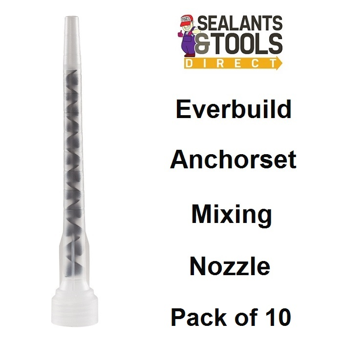 Anchorset Chemical Anchor Resin Mixing Nozzles Box of 10