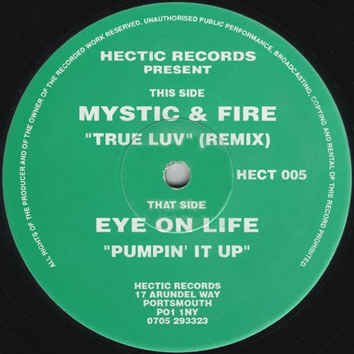 Download Mystic & Fire / Eye On Life - True Luv (Remix) / Pumpin' It Up mp3