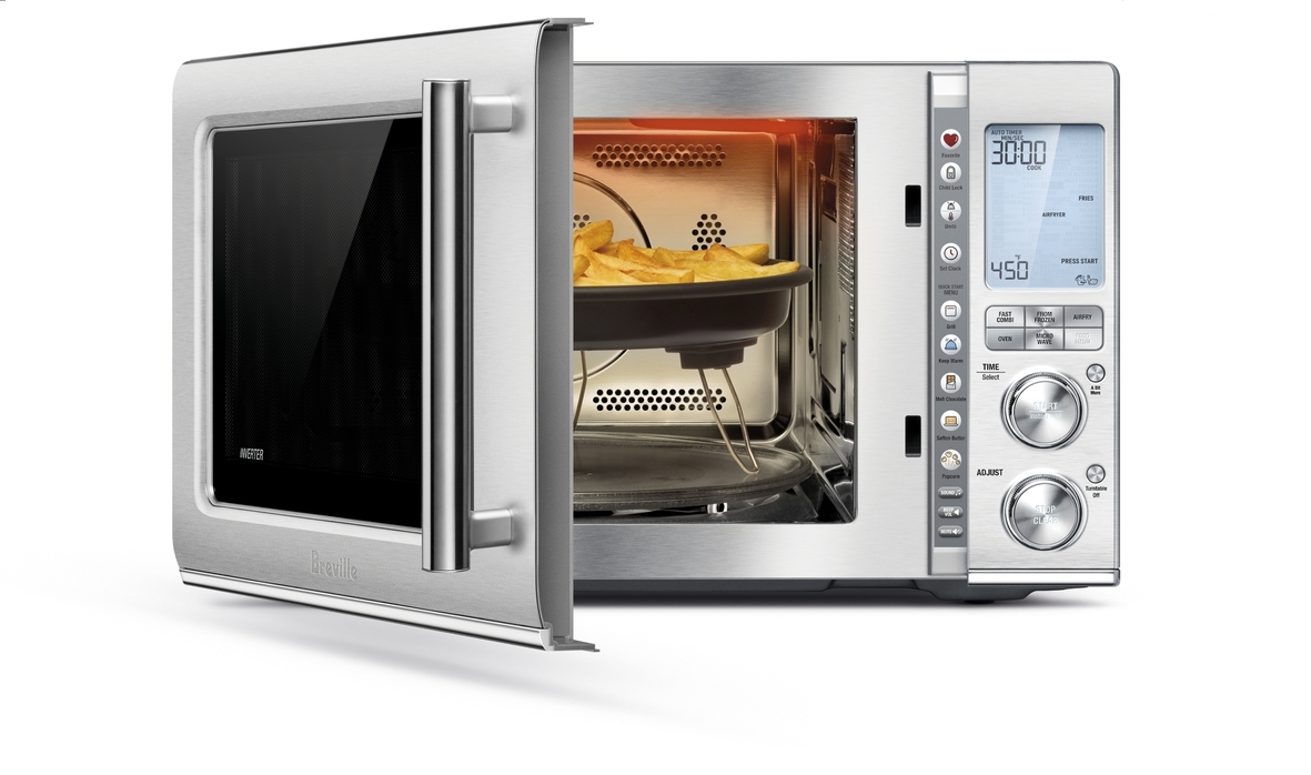 The Breville Combi Wave 2 is a smart microwave available at Best Buy. (ad)