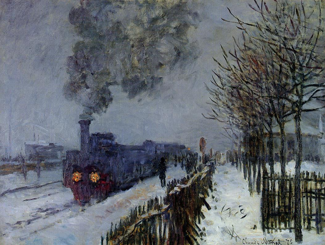 Claude-Monet-Train-in-the-Snow-wiki