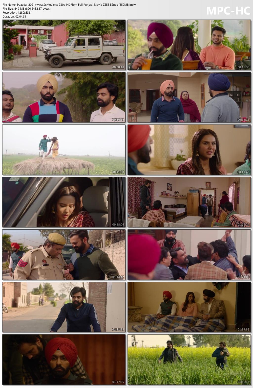 Puaada-2021-www-9x-Movie-cc-720p-HDRipm-Full-Punjabi-Movie-ZEE5-ESubs-850-MB-mkv