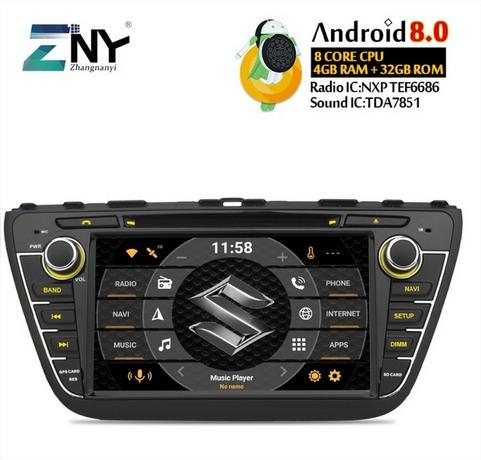 Suzuki S-Cross Radio Aliexpress
