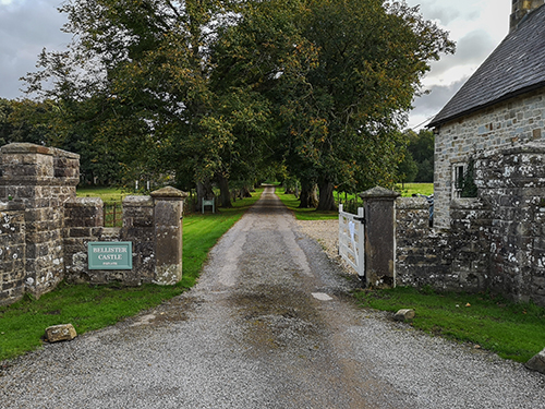 An image showing the entrance to Bellister Castle © Icy Sedgwick