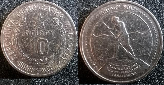 Madagascar 10 A 1978