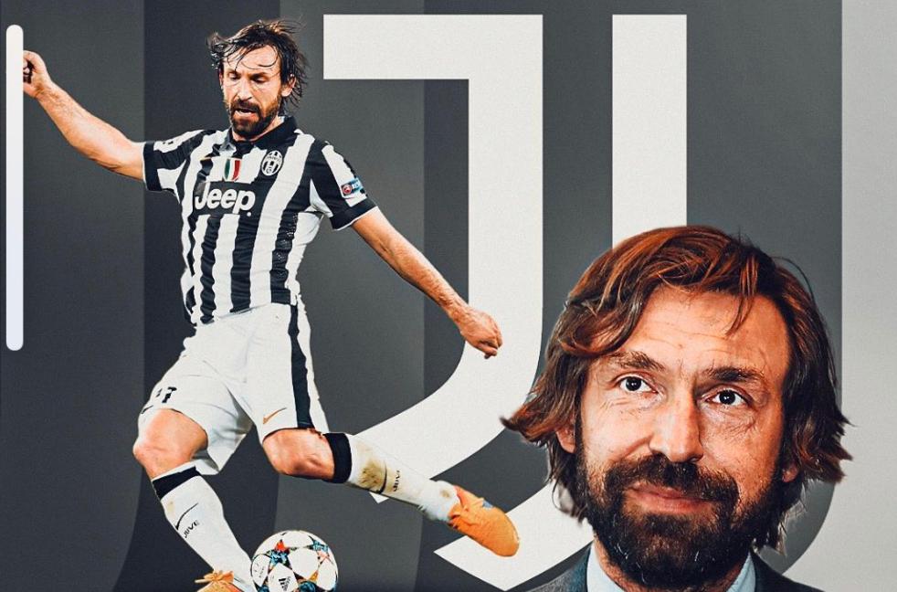 Juventus: Andrea Pirlo nuovo allenatore bianconero