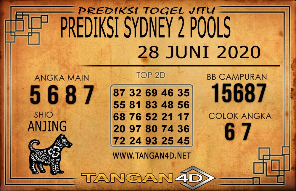 PREDIKSI TOGEL SYDNEY 2 TANGAN4D 28 JUNI 2020