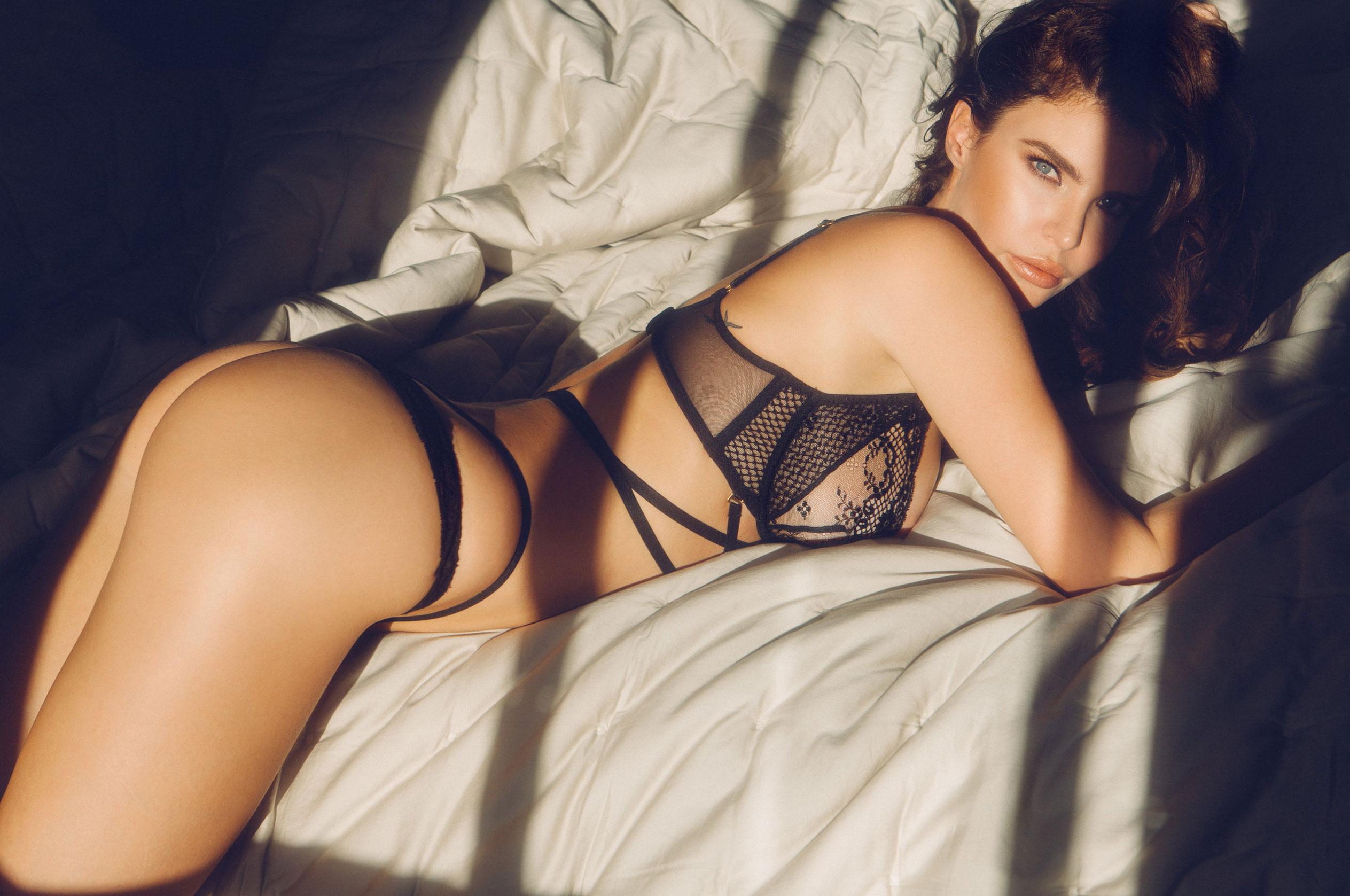 Юлия Лескова в люксовом французском нижнем белье / фото 13