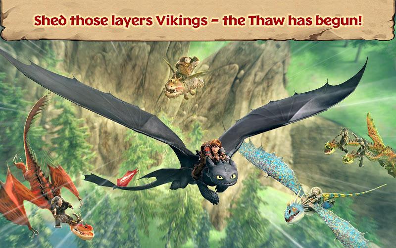 Dragons: Rise of Berk (MOD, Unlimited Runes/Cards/Fish)