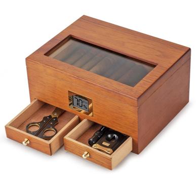 雪松木雪茄保湿盒