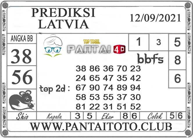 PREDIKSI TOGEL LATVIA PANTAI4D 12 SEPTEMBER 2021