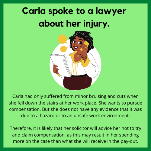 Case study of a personal injury lawyer claim