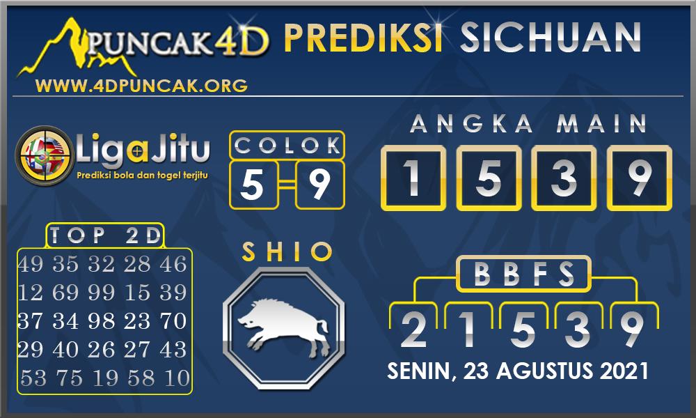 PREDIKSI TOGEL SICHUAN PUNCAK4D 23 AGUSTUS 2021