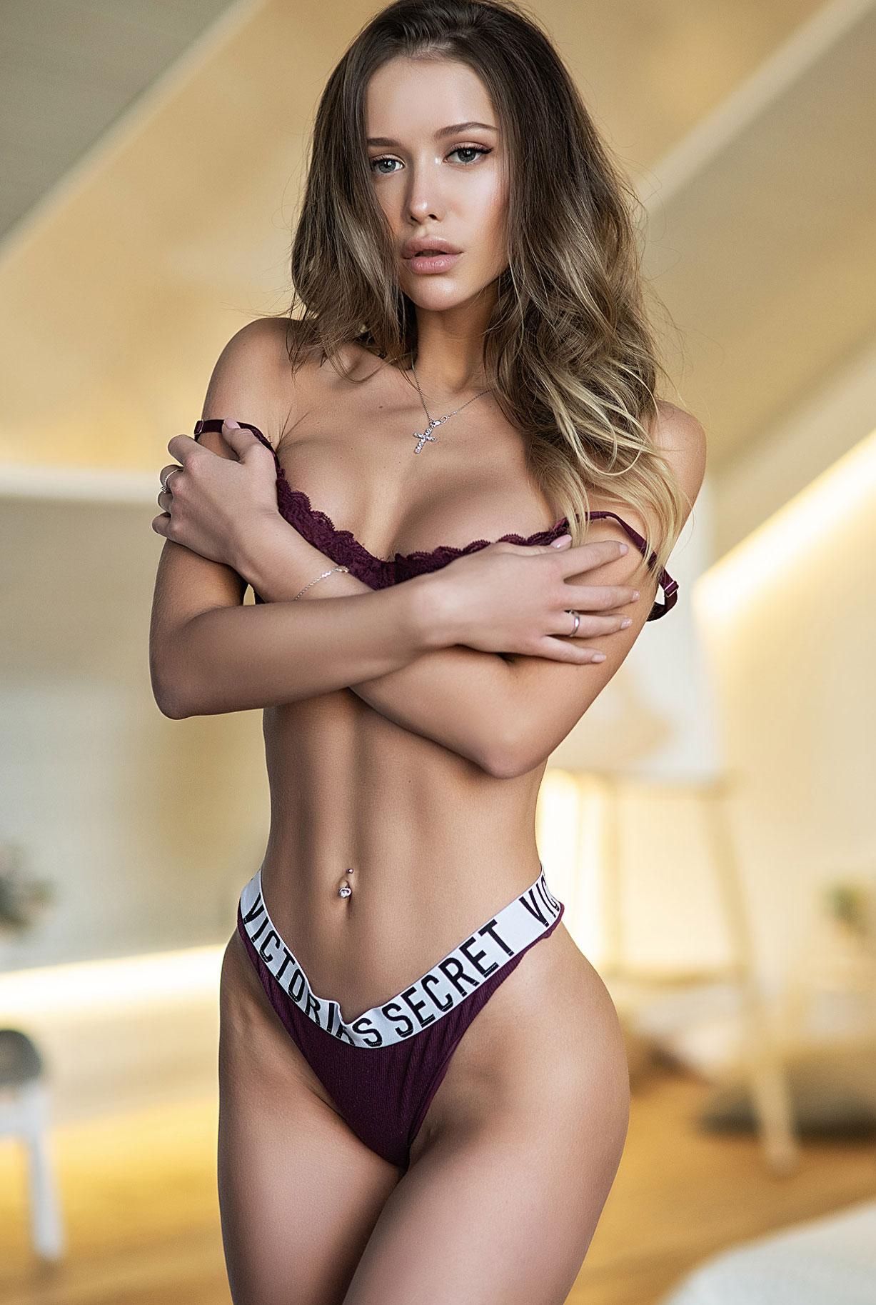 Владислава в нижнем белье Victorias Secret / фото 02