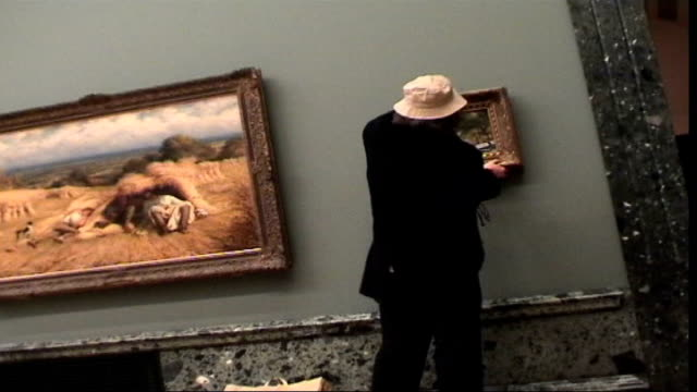 Graffiti-artist-Banksy-s-work-auctioned-at-Sotheby-s-LIB-TX-15-10-2003-ENGLAND-London-Tate-Britain-B