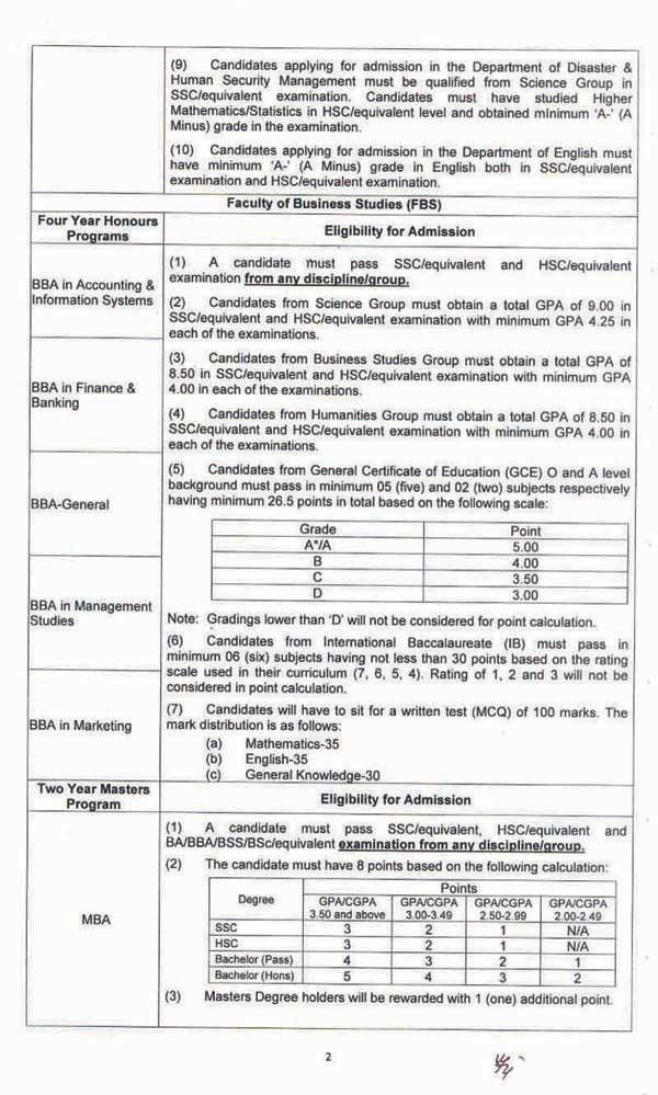 BUP Admission Result 2021- www.bup.edu.bd Result PDF 2